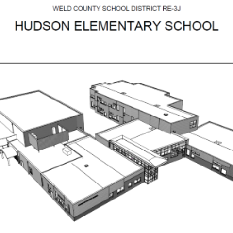 Weld County School District RE-3J – Hudson Elementary School